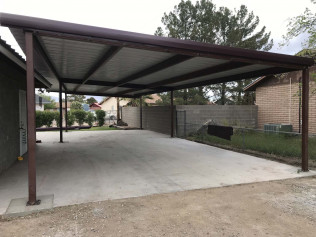 home addition by metal building contractor safford az